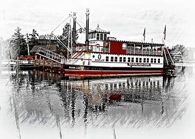 Riverlady.com Art Print