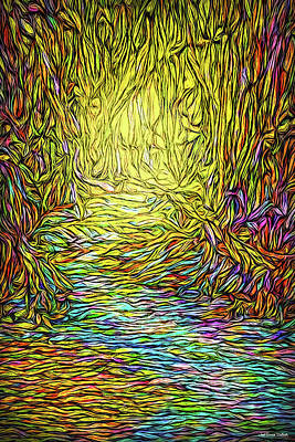 Digital Art - Rivers And Reveries by Joel Bruce Wallach