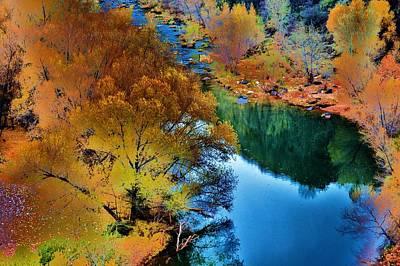 Verde River Photograph - River's Calm by Helen Carson