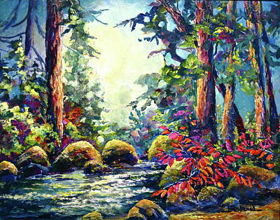 Painting - River's Edge by Bonny Roberts