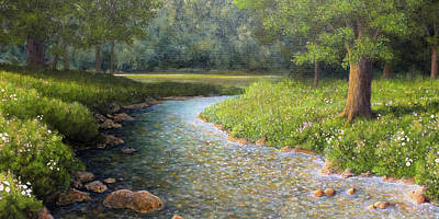 Painting - Rivers End by Marc Dmytryshyn