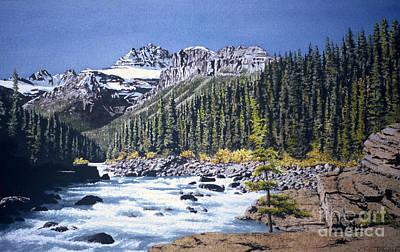 River's Path Art Print