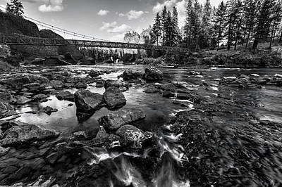Photograph - Riverside At Bowl And Pitcher by Mark Kiver