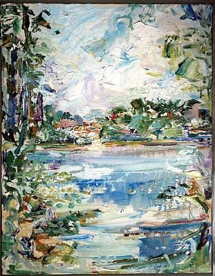 Painting - Riverside by Caroline Krieger Comings