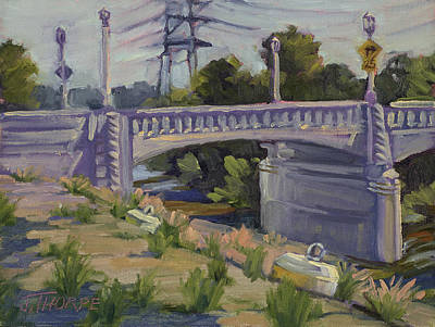 Painting - Riverside Drive Bridge by Jane Thorpe