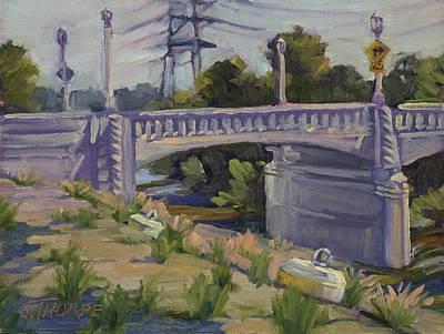 Painting - Riverside Drive Bridge by Jane Thorpe