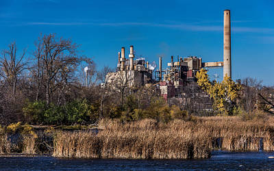 Fox River Mills Photograph - Riverside Factory by Rockland Filmworks