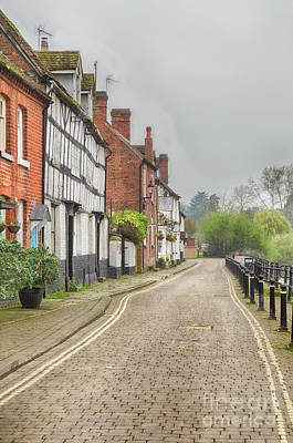 Photograph - Riverside Houses In Bewdley, Worcestershire by Linsey Williams