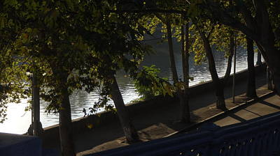 Tbilisi Photograph - Riverside Of Tbilisi During Indian Summer by George Hertz