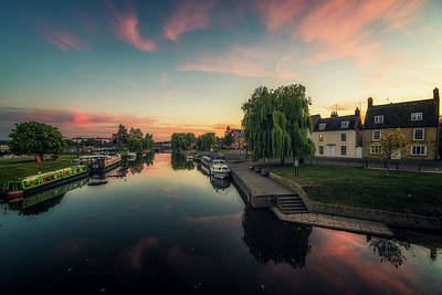 Photograph - Riverside On A Spring Evening by James Billings