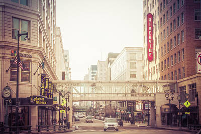Photograph - Riverside On Wisconsin Ave by Joel Witmeyer