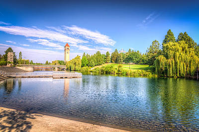 Riverside Park In Spokane Art Print