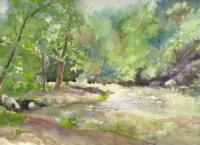 Riverside Park Art Print