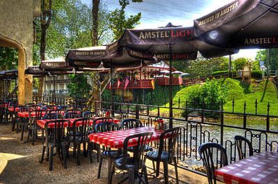 Photograph - Riverside Patio by Greg and Chrystal Mimbs