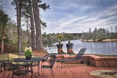 Photograph - Riverside Relaxation by Linda Brown