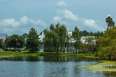 Photograph - Rivertowne Pond by Dale Powell