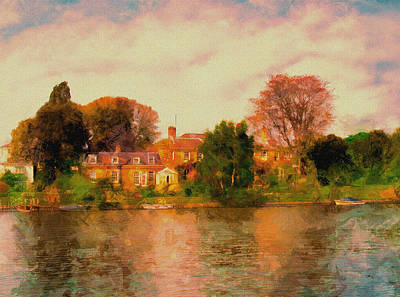Riverview II Art Print