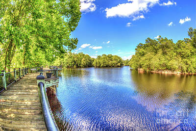 Photograph - Riverwalk Along The Waccamaw by Gene Berkenbile