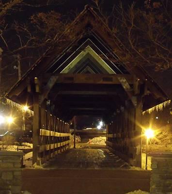 Riverwalk Bridge I Art Print
