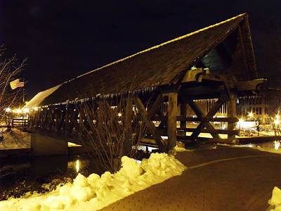 Riverwalk Bridge IIi Art Print