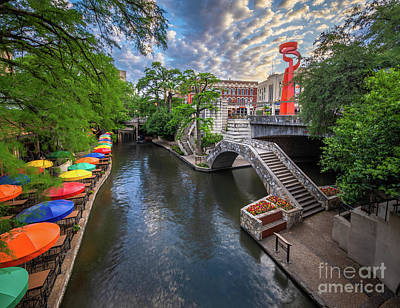 Photograph - Riverwalk Dawn by Inge Johnsson