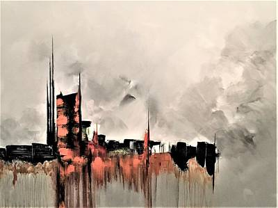 Painting - Riveting by Soraya Silvestri
