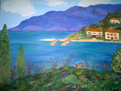 Painting - Riviera Remembered by Alanna Hug-McAnnally