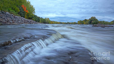 Riviere Photograph - Riviere Des Prairies Panorama by Mircea Costina Photography