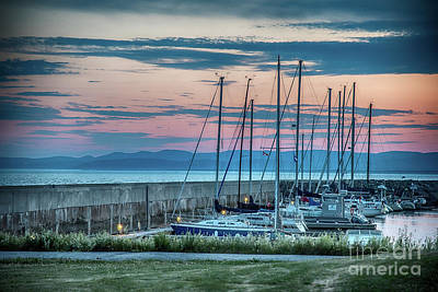 Photograph - Riviere-du-loup Marina by Bianca Nadeau