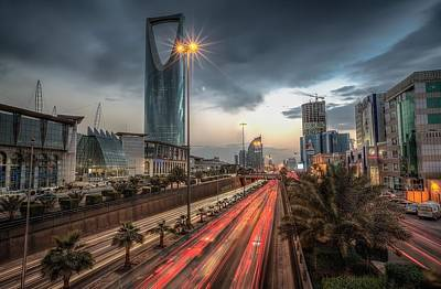 City Scenes Digital Art - Riyadh by Maye Loeser