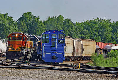 Photograph - Rlcx Sw900 #905 In The Yard by Joseph C Hinson Photography