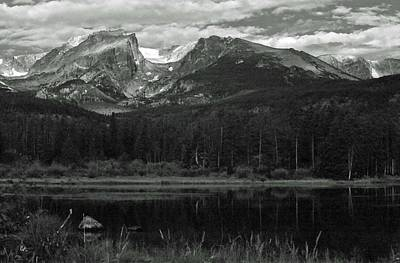 Photograph - Rmnp - Infrared 03 by Pamela Critchlow