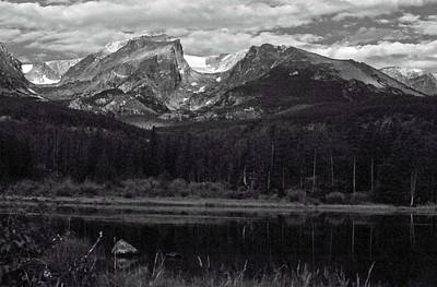 Photograph - Rmnp - Infrared 04 by Pamela Critchlow