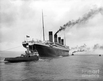 Rms Titanic Photograph - Rms Titanic by Jon Neidert