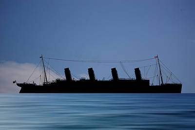 Cruise Photograph - Rms Titantic V4 by Smart Aviation