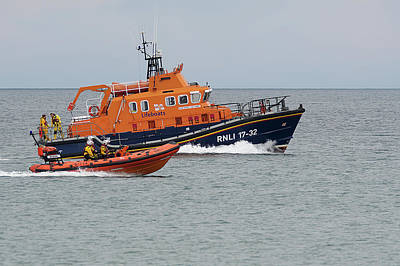 Photograph - Rnlb Earnest And Mabel And Phyl Clare 3 by Chris Day