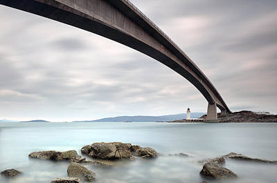 Photograph - Road Bridge Rocks by Grant Glendinning