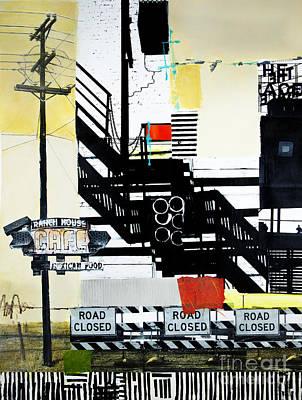Road Closed Original by Elena Nosyreva