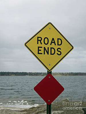 Photograph - Road Ends by Ann Horn