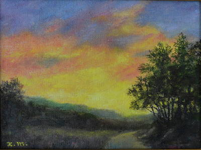 Painting - Road Home by Kathleen McDermott