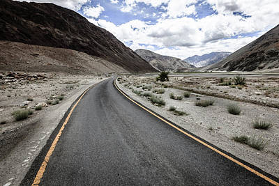 Photograph - Road In Himalayas by Alexey Stiop