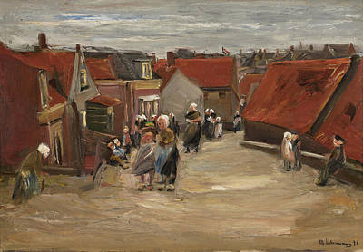 Scheveningen Painting - Road In Scheveningen by Celestial Images