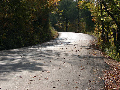 Photograph - Road In The Fall by Scott Sanders