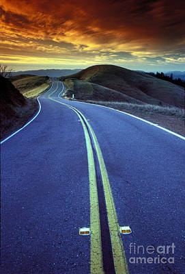 Photograph - Road In The Mountains by Wernher Krutein