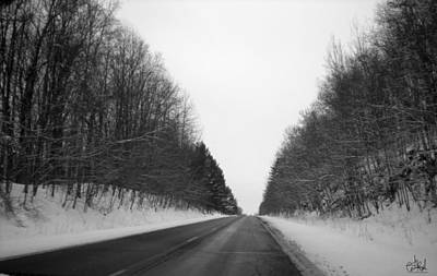 Wall Art - Photograph - Road In The Snow by Cate Rubin