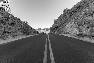 Photograph - Road In Valley Of Fire State Park  by John McGraw