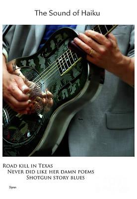 Resonator Photograph - Road Kill In Texas  by Steven Digman