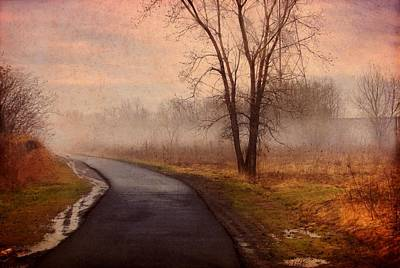 Painting - Road Less Traveled  by Troy Caperton