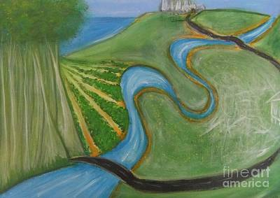 Painting - Road Map by Leonie Higgins Noone