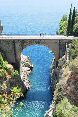 Pop Art - Road of Amalfi Coast by Anastasy Yarmolovich